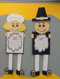 Thanksgiving Unit... Pilgrim Children Lap Book and Craftivity