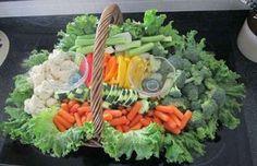 Buffet Ideas   Having Fun with Fruit & Veggie Displays