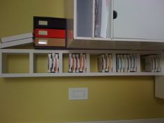 Made this to organize stampin up ink pads.