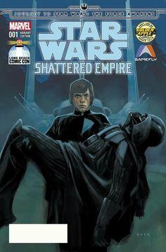 Luke SKYWALKER and DARTH VADER | Episode VI : Return of The Jedi (1983) | By Phil NOTO (MARVEL Comics) | STAR WARS : Comics