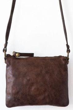 9f236bbd631 C4004 vl Dark Brown Campomaggi Bag. ezgi · bag design · campomaggi moro  small square crossbody One Bag, Leather Handle, Shoulder Strap