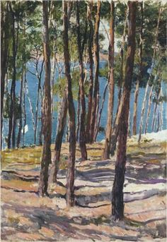 Pine Trees - Joaquín Sorolla