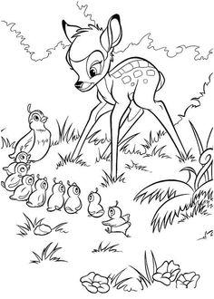 Bambi oplever forår