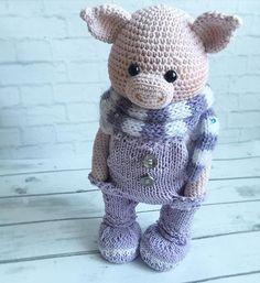 Автор фото @olga_toys_handmade - подписывайте свои фото тегом #weamiguru, лучшие попадут в нашу ленту! #amigurumi #crochet #knitting #cute #handmade #амигуруми #вязание #игрушки #интересное #ручнаяработа #toys #cute #amigurumilove #хендмейд