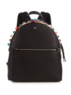 Embellished leather backpack | Fendi | MATCHESFASHION.COM
