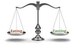 Balancing eating and fasting