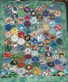 My first of many I spy quilts.