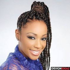 100 Best Black Braided Hairstyles - 2017