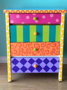 Penny Lane, the mini-dresser. by rebecca waring-crane