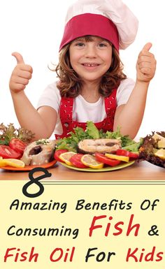 8 Amazing Benefits Of Consuming Fish & Fish Oil For Kids