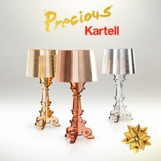 Bourgies by Kartell Sconces, Wall Lights, Table Lamp, Xmas, Sparkle, Editorial, Campaign, Interiors, Explore