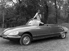 Jane Birkin and Citroen DS Citroen Ds, Manx, Lou Douillon, Photo Star, Actrices Sexy, Cabriolet, Jane Birkin, E Type, Rolls Royce