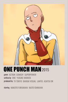 One Punch Man Poster, Manga One Punch Man, Minimalist Photos, Minimalist Poster, Saitama, Anime One, Anime Manga, Kakashi Drawing, Photo Naruto