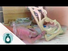Taller de Veladuras con barnices coloreados | El Sabor de lo Antiguo - YouTube