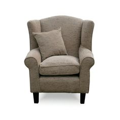 Wing Back Chair Exclusively In Orkney Mink