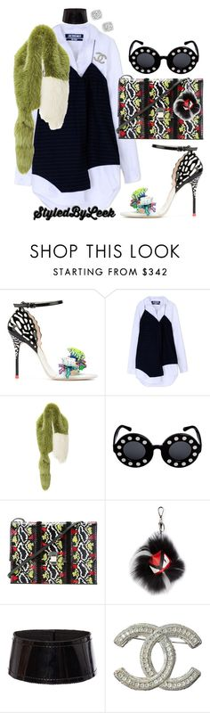 """""""5ThGenerationFashion.Tumblr.Com"""" by stylebywho ❤ liked on Polyvore featuring Sophia Webster, Jacquemus, Marni, Linda Farrow, Proenza Schouler, Fendi, Antonio Berardi, Chanel and Bloomingdale's"""