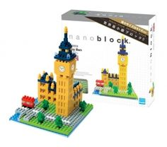 #Nanoblock Sights To See Collection Big Ben Nanoblock is a micro-sized building block system with is smallest parts being a mere 4x4x5mm. It is a simulating hobby material for everyone, but especially for grown-ups who #wish to be absorbed making projects in great #deal. Our Price: S$25.90