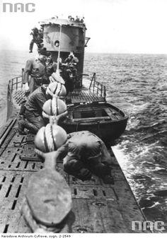 U-Boot type VII) at high sea 1942