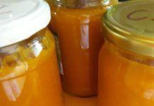 Cukormentes sárgabaracklekvár, tartósítószer nélkül! Nincs benne más, csak a friss gyümölcs! Mosaic Art, Hot Sauce Bottles, Salsa, Muffin, Jar, Stuffed Peppers, Vegetables, Food, Stuffed Pepper