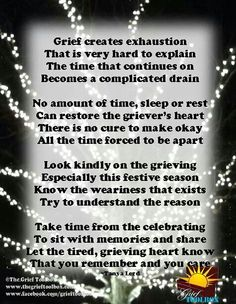 Grief poem