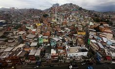 Mario Tama/Getty Images  The Alemão favela complex in Rio de Janeiro, viewed from the cable car.