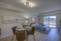 Parliament rentals is a luxury apartment rental community located in Harbour Landing Regina. The apartments include a number of amenities including gym, lounge, and parking. Luxury Apartments, Rental Apartments, Landing, Condo, Dining Table, Lounge, Bedroom, Furniture, Home Decor