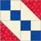 Americana Patchwork Beginner Quilt
