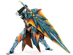 Amazon.com: Monster Hunter 3 G Lagia Series Equipment Hunter Action Figure Exclusive: Toys & Games