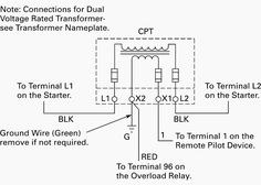 control circuit with control power transformer cpt motor rh pinterest com cpt wiring diagram 3-Way Switch Wiring Diagram