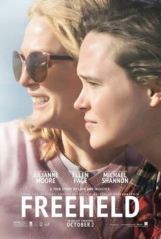 Freeheld on DVD February 2016 starring Ellen Page, Julianne Moore, Steve Carell, Michael Shannon. The film chronicles the true story of the late Laurel Hester (Julianne Moore), a New Jersey police detective whose world was shattered when Julianne Moore, 2015 Movies, Hd Movies, Movies Online, Latest Movies, Michael Moore, Steve Carell, Romance, Love Movie