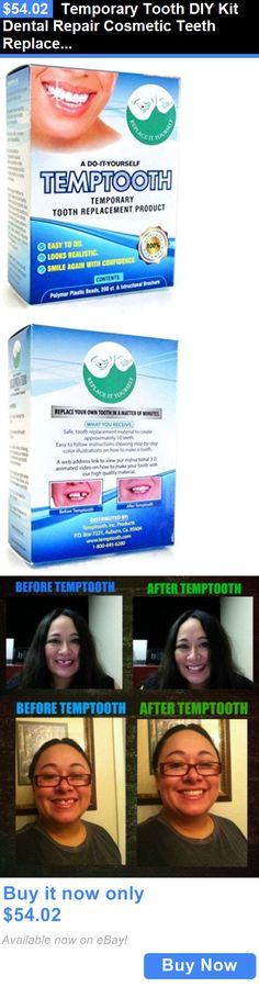 Other Oral Care: Temporary Tooth Diy Kit Dental Repair Cosmetic Teeth Replacement Oral Care Smile BUY IT NOW ONLY: $54.02