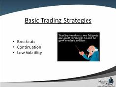 Basic Stock Market Investing Strategies:  Breakouts, Pullbacks and Bolli...