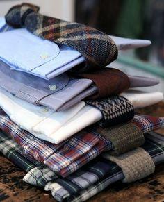 // shirts + ties