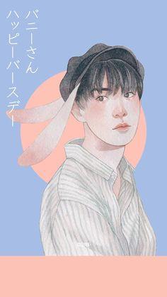 #nct #doyoung Kpop Drawings, Cute Drawings, Wallpaper Aesthetic, Nct Doyoung, Bullet Journal Art, Korean Art, Sketchbook Inspiration, Kpop Fanart, Pretty Art