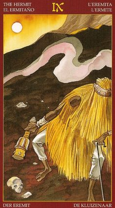 The Hermit - Afro-Brazilian Tarot