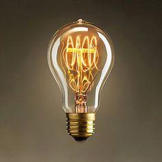 60w retro industristil glödlampa Edison version