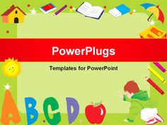 powerpoint design templates school - Google Search