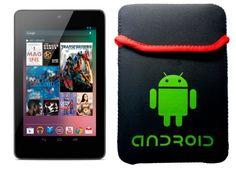 """FUNDA NEOPRENO LOGO ANDROID TABLET 7"""" SAMSUNG GALAXY TAB 2 P3100/3110, GALAXY TAB P1000, ASUS NEXUS 7 PURE GOOGLE, UNIVERSAL TABLETS 7 PULGADAS B009QJUT2A - http://www.comprartabletas.es/funda-neopreno-logo-android-tablet-7-samsung-galaxy-tab-2-p31003110-galaxy-tab-p1000-asus-nexus-7-pure-google-universal-tablets-7-pulgadas-b009qjut2a.html"""