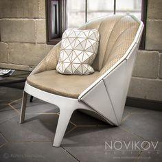 Waiting area - Strabo Store concept by Novikov Designs www.novikovdesigns.co.uk