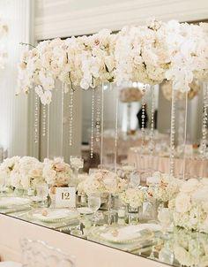 Featured Photographer: Jana Williams Photography; Wedding reception centerpiece idea