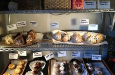 Martine's Bake Shop/Denver: Inside, a single bakers rack displays Martine Chavez's daily selection of knobby scones and decorated cupcakes, which she calls a cross between a muffin and a cupcake. Her buttery cookies—chocolate chunk, oatmeal, creamy peanut butter—sit near the cash register. There's also brewed coffee and breakfast burritos, and that's it.