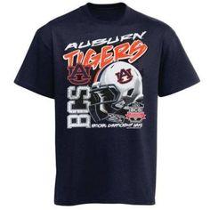Auburn Tigers Football 2014 NCAA BCS National Championship Game t-shirt new AU