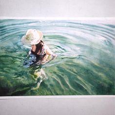 Segunda-feira, #aquarela #watercolor.