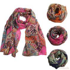 Wholesale Product Snapshot Product name is 2015 Amazing Coming Fashion Women Girl Chiffon Printed Silk Long Soft Scarf Shawl Scarf Cooseela