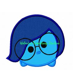 Characters :: Characters R-U :: Sadness, Inside Out Tsum Tsum