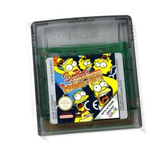 Nintendo Gameboy The Simpsons Night of The Living Treehouse of Horror