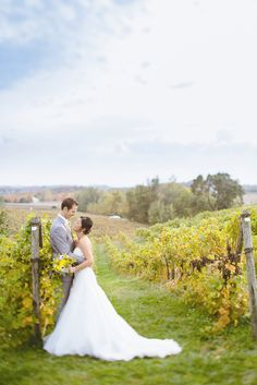 A Rustic Chic Wedding at Ciccone Vineyard & Winery in Suttons Bay, Michigan from K. Holly Photography. More couples shots http://www.theknot.com/weddings/photos/couples-shots