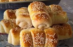 τυροπιτάκια Croatian Kifle Recipe, Brze Torte, Kiflice Recipe, Bread Dough Recipe, Macedonian Food, Croatian Recipes, English Food, Greek Recipes, Cake Recipes