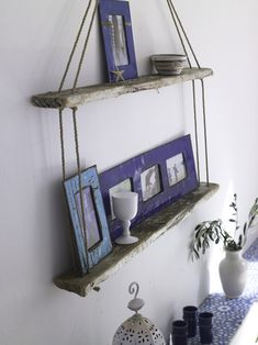 I'm looking for a drift wood shelf idea for my living room. kinda going for a nautical theme in there...this is not the one I saw before but it looks much simpler
