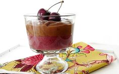 Double Layer Cherry Chocolate Pudding For the Whole Family!